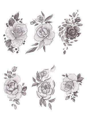 A Rose by Any Other Name-Temporary Tattoo-Tattify
