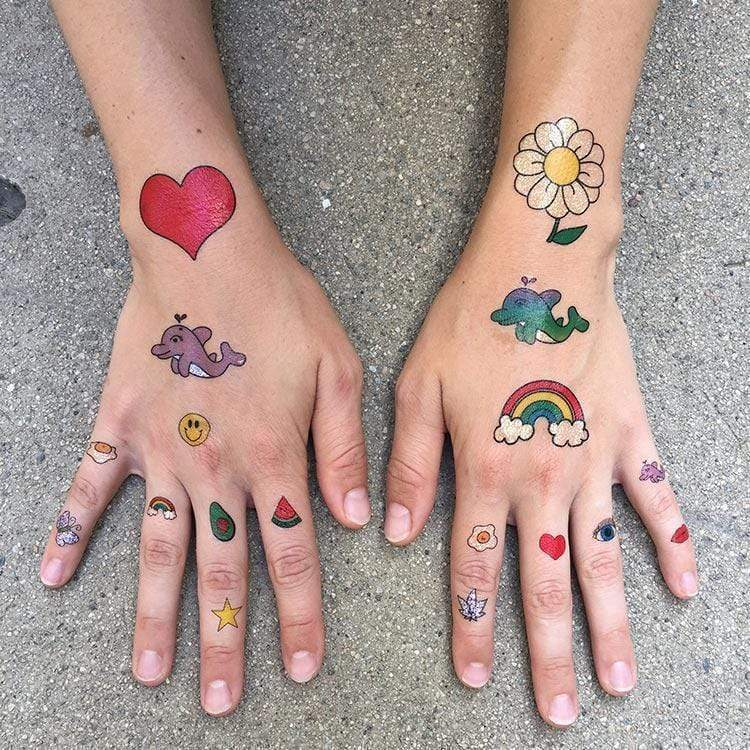 AMAZING SPARKLY TATTOO SET-Tattify