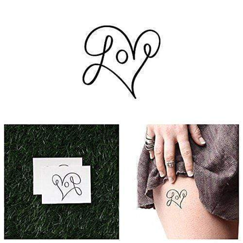 Loop De Loop - Temporary Tattoo (Set of 2)-Tattoo-Tattify