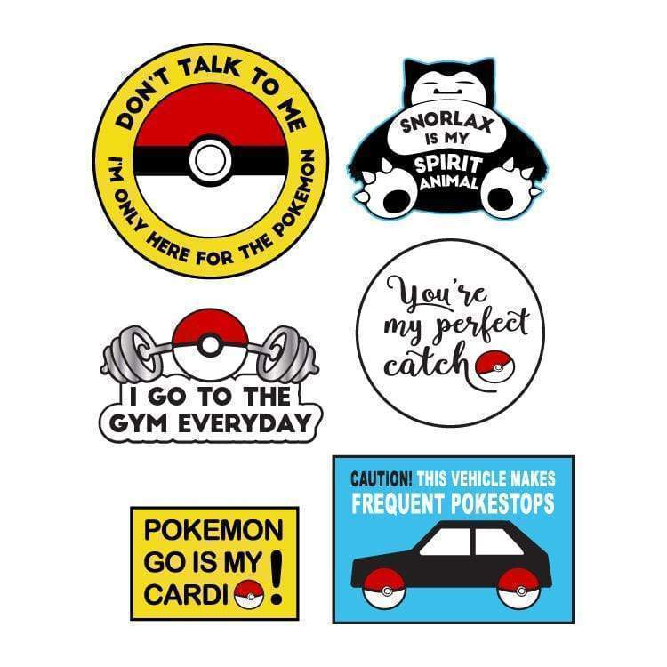 Pokemon Go Embroidered Sticker Patch Collection-Tattify
