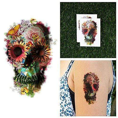Putting Heads Graveyard Girl-Tattoo-Tattify