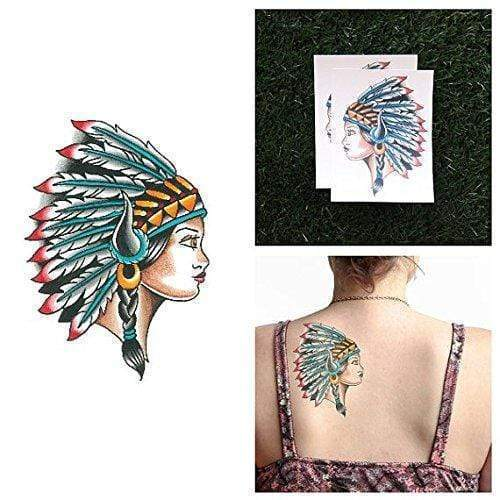 Shades Headdress-Tattoo-Tattify