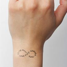 "Small Custom Temporary Tattoo - Up To 2"" X 3"" (2 copies)-Tattify"