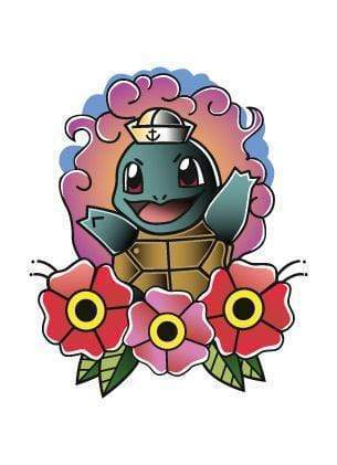 Squirtle I Choose You-Tattify