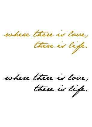 Where There is Love..-Tattify