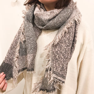 Open image in slideshow, CA SF19-964 Winter scarf long plaid
