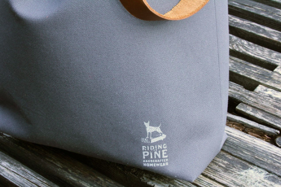 RIDING THE PINE Library Bag