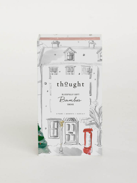 thought | Ladies Christmas Treats Sock Box