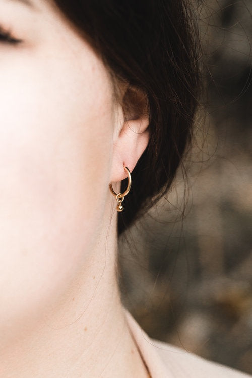 Jen Ellis Designs | Earrings Jake - Gold
