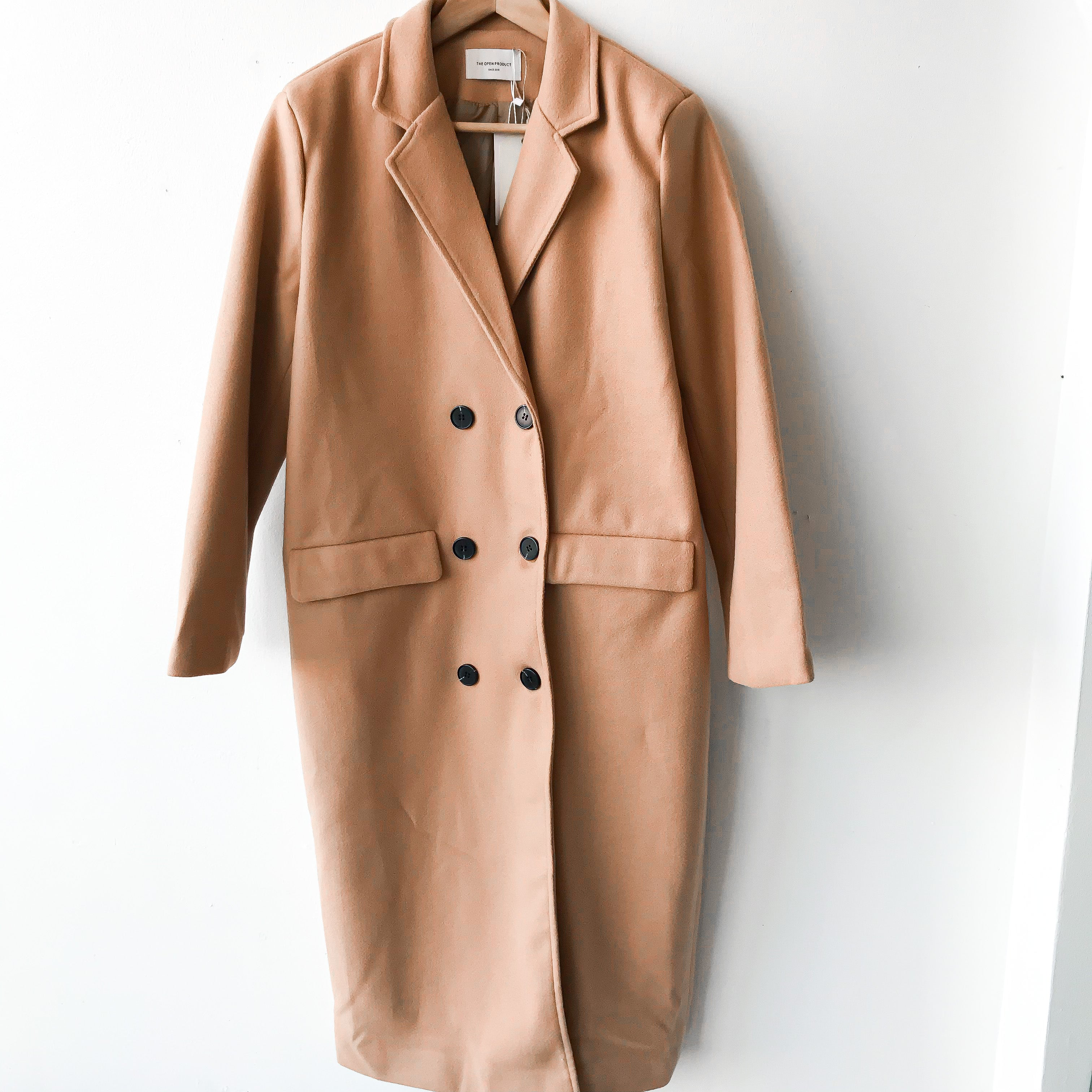 DG | Double Button Long Chester Coat