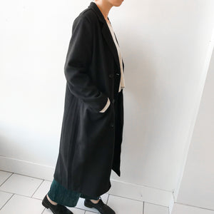 Open image in slideshow, DG | Double Button Long Chester Coat