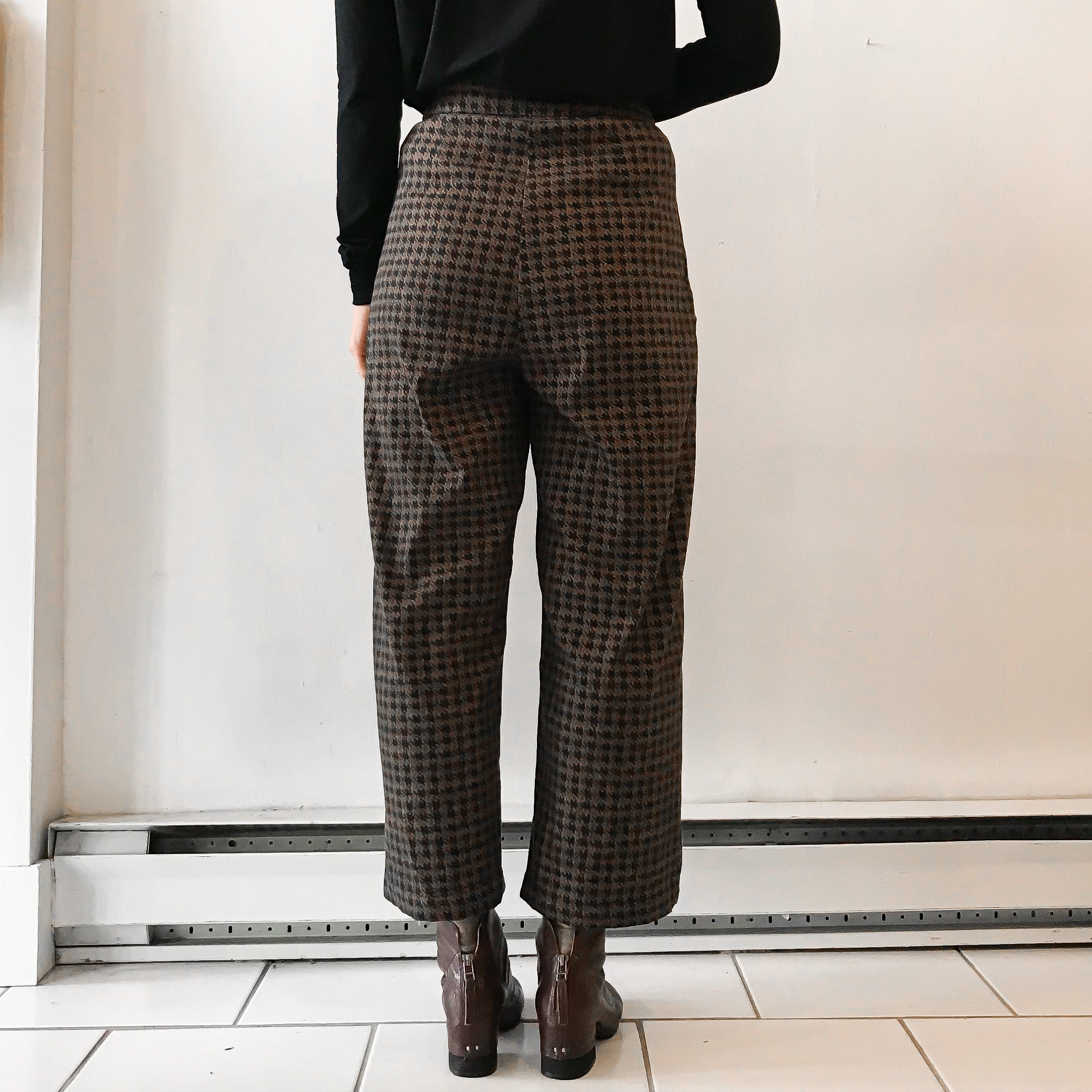 MELOW | BRANDON High Waist Pants - Toffee