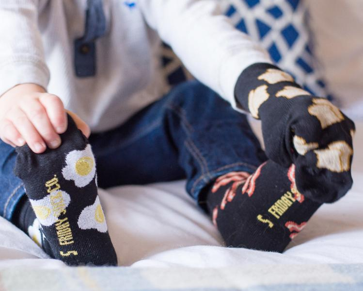 Friday Socks | Kid's Breakfast
