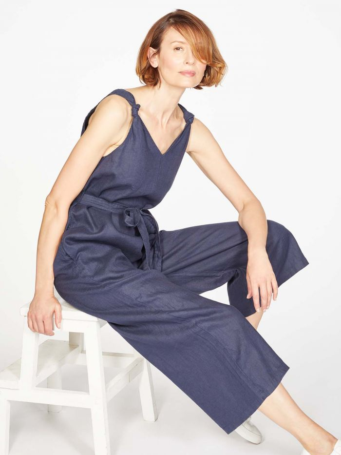 thought | Erin Jumpsuit - Navy