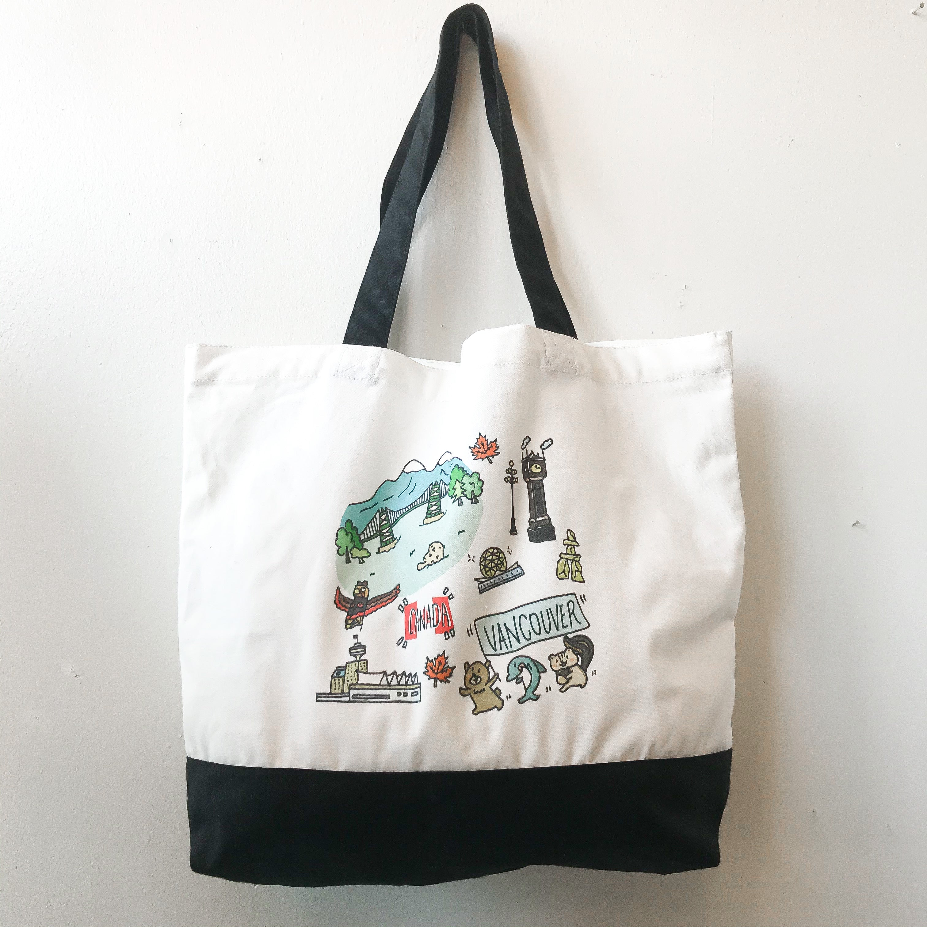 Yurie's Canvas 2 Tone Tote