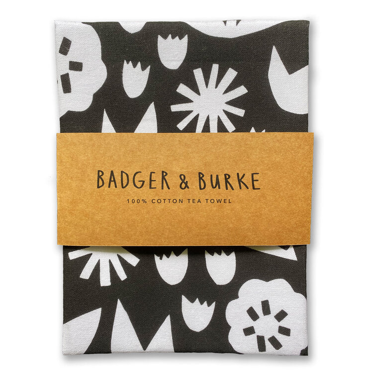 BADGER & BURKE | June Floral Tea Towel