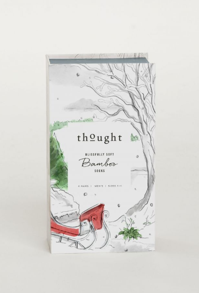 thought | Men Christmas Eve Sock Box