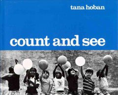 Count and See Tana Hoban, Tana Hoban (Illustrator)