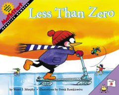 Less Than Zero (Mathstart Series), Vol. 49 Stuart J. Murphy,