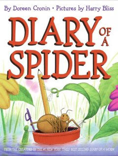 Diary of a Spider Doreen Cronin, Harry Bliss (Illustrator)