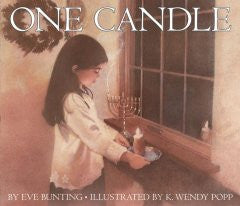 One Candle Eve Bunting, K. Wendy Popp (Illustrator)