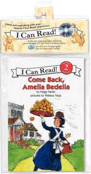 CD-Come Back, Amelia Bedelia: Book and CD (I Can Read Book 2 Se