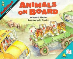 Animals on Board (MathStart 2)