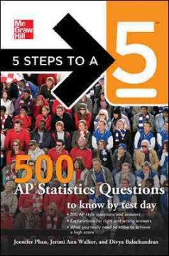 5 Steps to a 5 500 AP Statistics Questions to Know by Test D