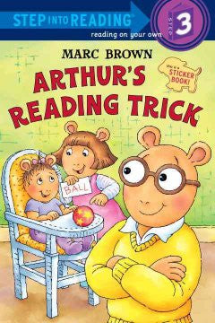 Arthur's Reading Trick Marc Brown