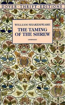 The Taming of the Shrew - Dover Edition