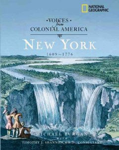 New York, 1609-1776 Michael Burgan, With Timothy J. Shannon