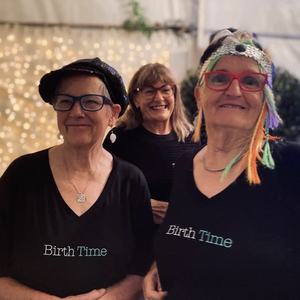 Birth Time Organic T-shirt and Tote Bag