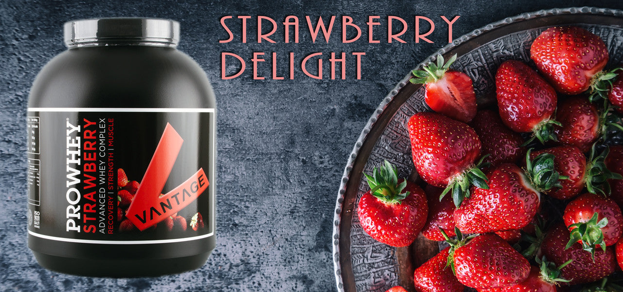 Strawberry Prowhey Protein - Delightful