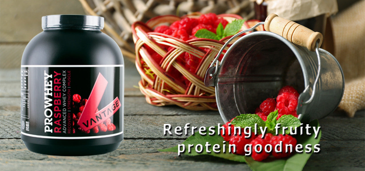 Refreshing Raspeberry loveliness - Protein