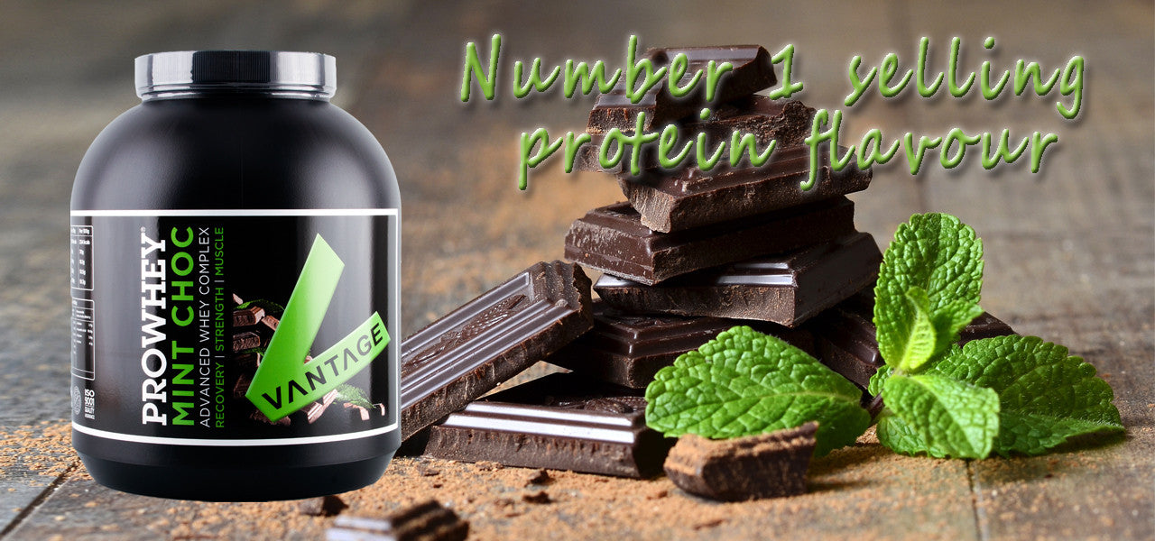 Mint Chocolate Flavour Prowhey Protein Supplement