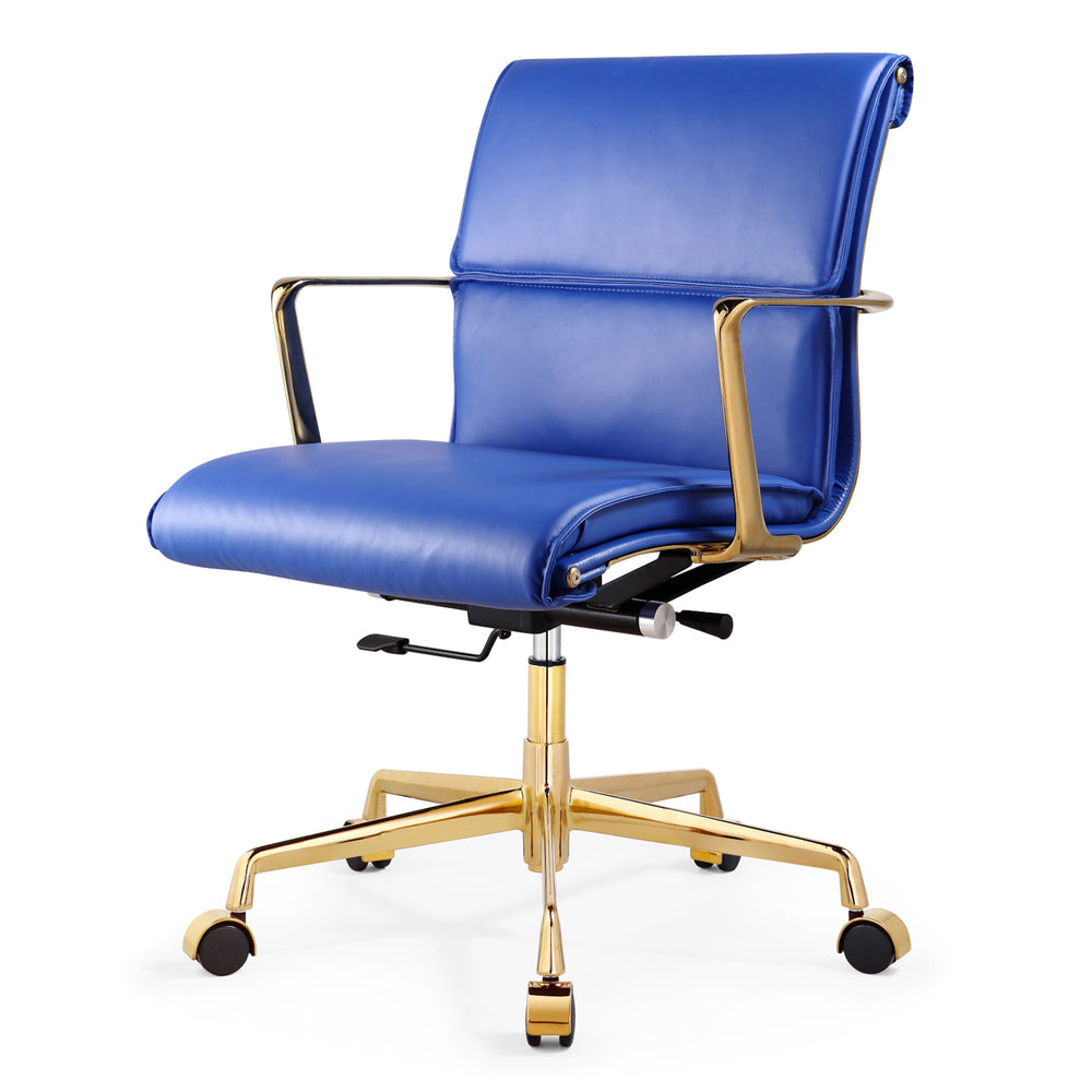 M347 Office Chair In Italian Leather- Clearance