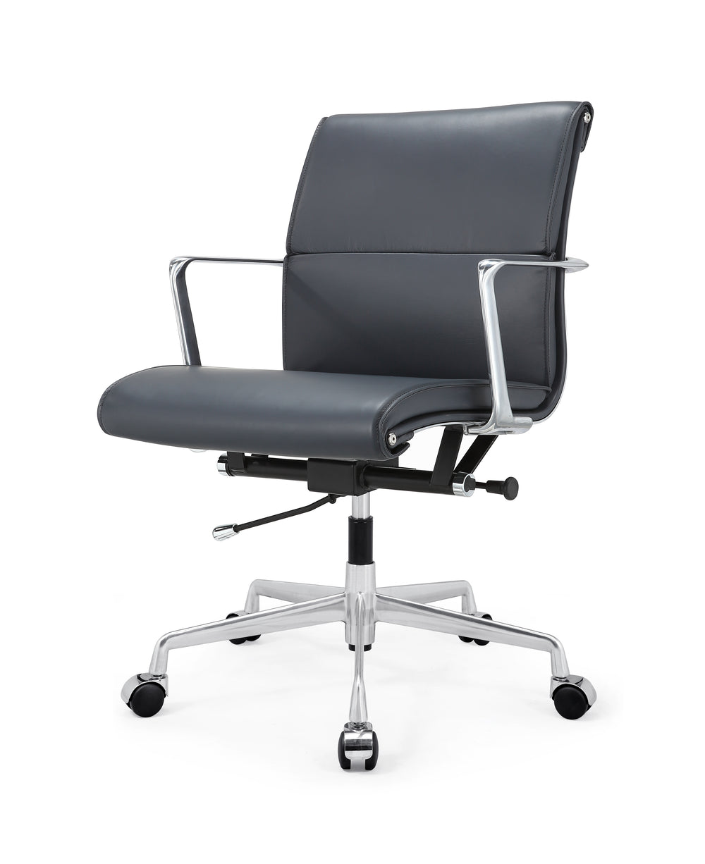 M347 Office Chair In Italian Leather