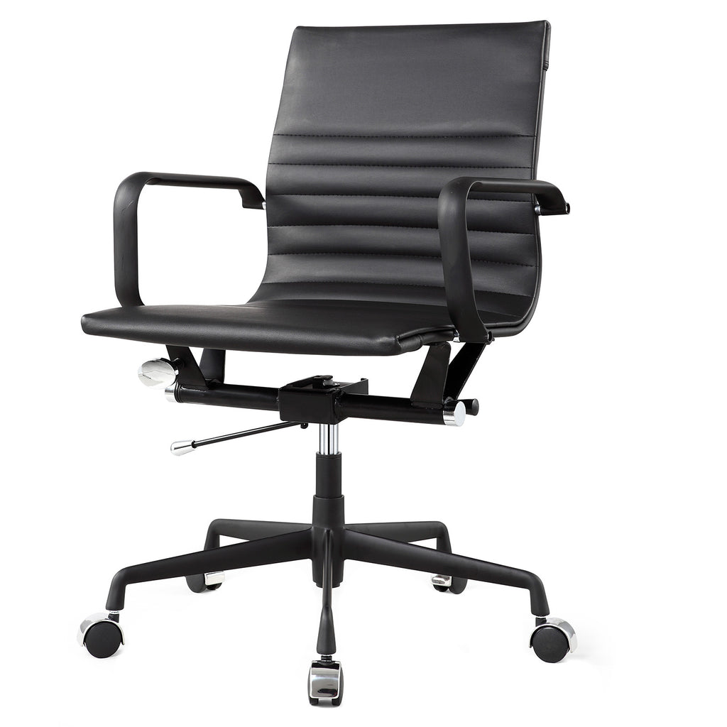 office chair in vegan leather (color options)
