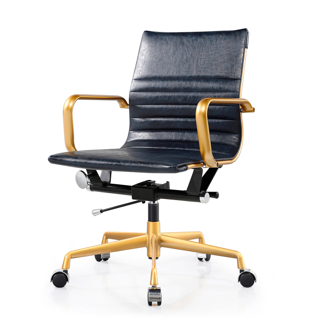 M348 Distressed Office Chair- Clearance