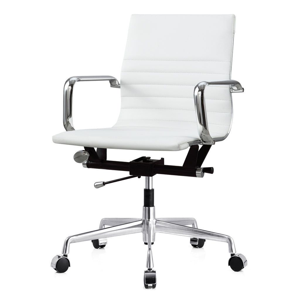 M348 Office Chair In Vegan Leather