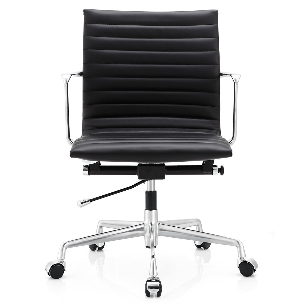 M5 Office Chair In Aniline Leather (Color Options)