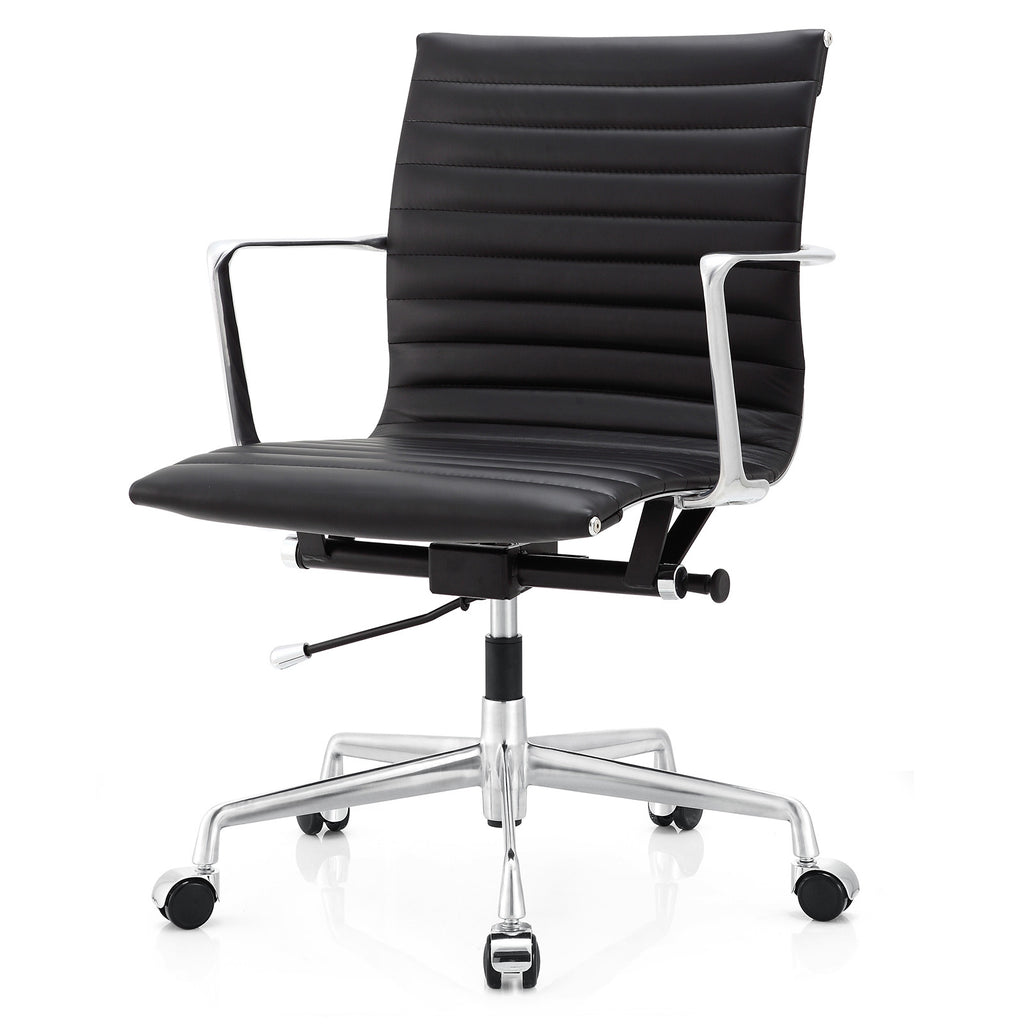 Office Chair Leather M5 Office Chair In Aniline Leather Color Options
