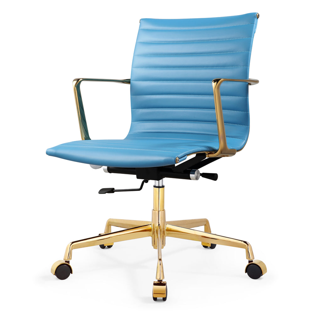 M5 Office Chair In Aniline Leather- Clearance