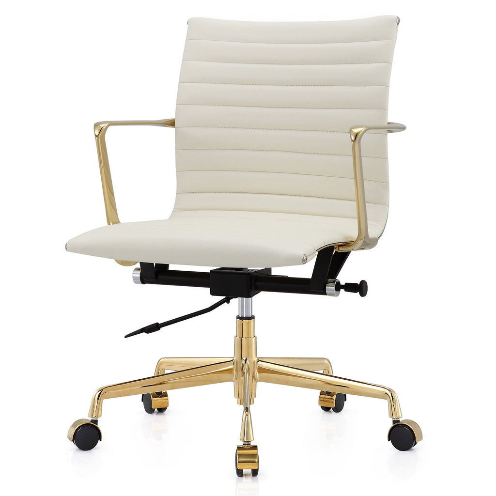 m5 office chair in aniline leather color options