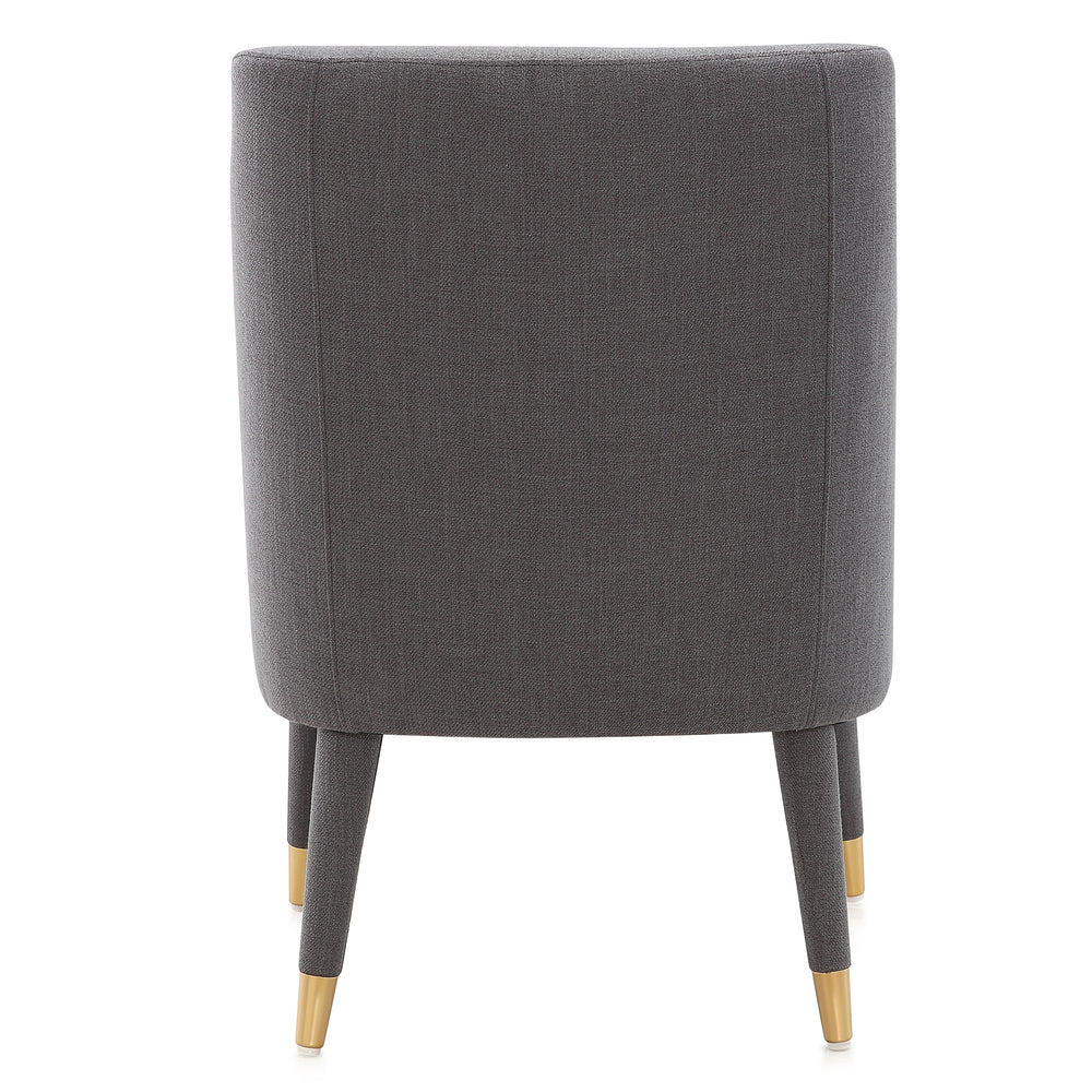 M69 Tufted Armchair In Fabric