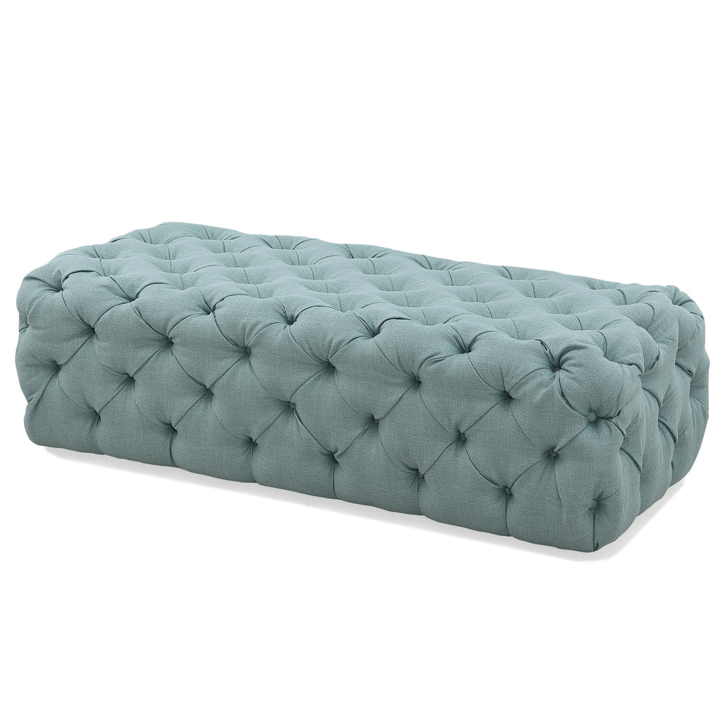 M73 Tufted Bench In Fabric