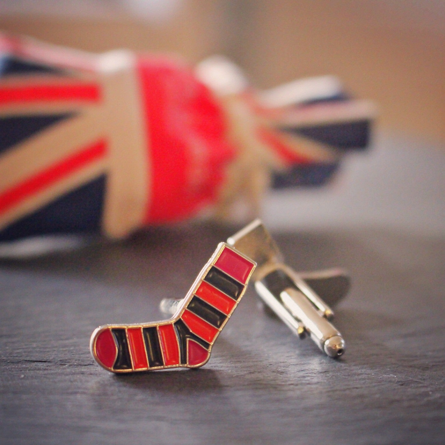 G&B Sock Cufflinks