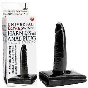 Picture of Universal Love Swing Harness With Anal Plug