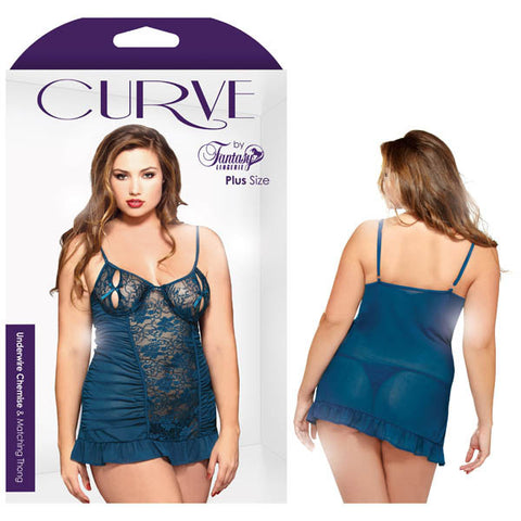 Picture of Curve Underwire Chemise and Matching Thong