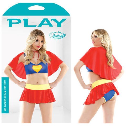 Picture of Play Super Sexy 4 Piece Costume Set
